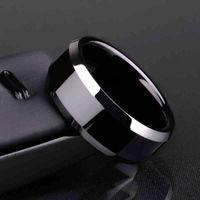 Кольцо Мужчины Титан Черный