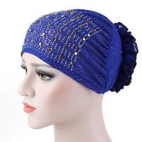 Şeker Renkler Kadın Şapkalar Dantel Sıcak Sondaj Headwrap Afrika Kafa wrap Büküm Saç Bandı Türban Bandana Başörtüsü Aksesuarları