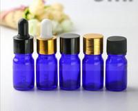 DHL Ücretsiz 5ml Mini Cam Göz Dropper ile Cam damla şişeleri Taşınabilir Aromaterapi Esstenial Yağ Şişesi boşaltın