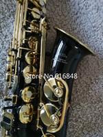 جميلة الأسود النيكل الذهب الآلات الموسيقية كوكب المشتري JAS-769-767 ألتو إب لحن ساكسفون أزرار اللؤلؤ ساكس للطلاب مع القضية