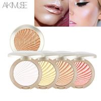 KIMUSE 브랜드 5 색 페이스 컨투어 메이크업 형광펜 파우더 가볍게 착용하십시오 Iluminador Bronzer Cosmetics