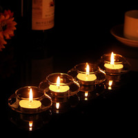 Retro vidrio colgante de vela vela ligera titulares de velas flotante de agua candelabro boda fiesta decoración del hogar soporte de la vela transparente