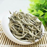 100g Ham Pu Er Çay Baihaoyinzhen Gümüş İğne Beyaz Pu er Çay Organik Pu'er Yeşil Puer En Eski Ağaç Doğal Puerh Çay