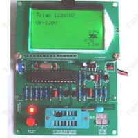 Freeshipping GM328 M328 트랜지스터 테스터 / ESR 테이블 / LCR / 주파수 측정기 / PWM 평방 파 장군 1Hz - 2MHz. 디지털 콤보 구성 요소