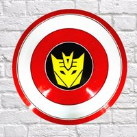 DL- High- quality Cartoon shield wall stickers for kids rooms ...