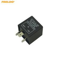 FEELDO CF13 JL-02 motorcycle 3 pin Electronic LED Flasher Blinker Relay Fix Flasher for Japanese car LED Bulbs Indicators #5356