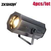 80% Off 120W CW WW LED Zoom COB Par Luz 230V DMX512 Professional DJ Disco Party Stage Lighting Equipment 3000K frete grátis