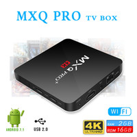 Android 8. 1 tv box MXQ PRO Plus Amlogic S905w Quad Core 2GB ...