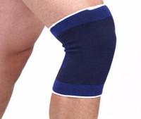 Оптовая 600pcs/много мягкая эластичная дышащая Брейс защитник площадку Спорт повязку колена