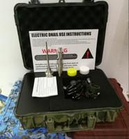 Tragbare tupfen rig e nagel enail quarz titanium nagel carb kappe elektrische tupfen nagel pid digital control dabber box für wasserglas banger