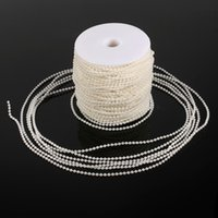 50m Roll Artificial Fishing Line Pearls 3mm Pearls Garland F...