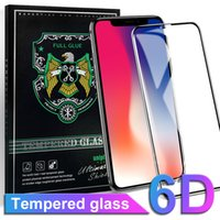 For Iphone X Tempered Glass Screen Protector 6D Touch Edge 9...