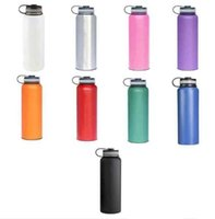 304 Stainless Steel outdoor water bottle 18oz 32oz Insulated...