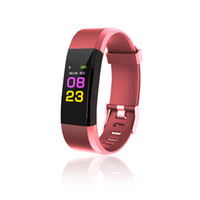 ID115 Plus Smart Wristband Color Display Screen Heart Rate B...