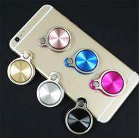 Telefon Tutucu CD Spin 360 Derece Evrensel iPhone X Için 6 7 Samsung S8 Manyetik Parmak Yüzük Cep Telefonu Tutucu Smartphone Standı