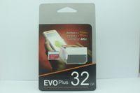 Nuovo arrivo caldo Class10 EVO PIO 128GB 64GB 32GB MicroSD Micro SD Card TF SDHC 80MB / s adattatore 30pcs