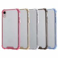 Shockproof Hard PC Soft TPU Cases For IPhone 12 Mini 11 XR X XS MAX 10 8 7 Galaxy S21 A52 A72 5G A02S NOTE 20 S20 Acrylic Plastic Hybrid Dual Color Phone Back Skin Cover