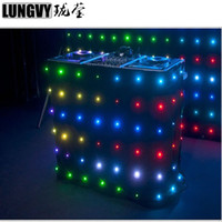 P18 3.5M*4.5M RGB Led Video Curtain Flexible Wedding Event Party Backdrop Display Light Wall
