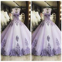 새로운 디자인 2021 O-Neck Sheer A-Line Prom Dresses 레이스 아플리케 커스텀 온라인 특별 행사 파티 가운 파란색 모조 다이아몬드 정식 길이