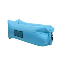 Fast Filling Lazy Sofa Resistencia a la abrasión High Tear Strength Portable Sleepping Bag Acampar al aire libre Family Travel Canvas Hamaca