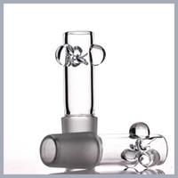 2.5 Tall 2 mm kalınlığında düz kase toptan YENİ TASARIM cam kase 18mm kase uygun 18mm dişi su borusu bonglar