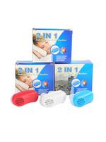 Aliviar o Ronco Nariz Ronco Parar Aparelhos de Respiração Guarda Auxiliar Dormir Mini Dispositivo Ronco Anti Ronco Silicone