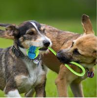 Algodón Perro Cuerda Juguete Nudo Cachorro Masticar Dentición Juguetes Dientes Limpieza Mascotas Palying Ball Para Perros Pequeños Medianos Grandes