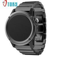 Hot Sale OTOKY Fabulous Metal Stainless Steel Watch Wrist Band Strap for Garmin Fenix 3/HR #freeshipping