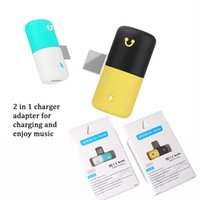 2 in 1 pill design fast charging adapter fit with charging c...