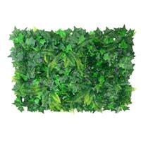 40 * 60cm 인공 장식품 식물 벽 가짜 잔디 가짜 잎 잔디 w / 홈 홈 웨딩 정원 건물 장식