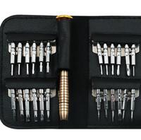 مفك مجموعة 25 في 1 Torx مفك مجموعة أداة إصلاح ل iPhone الهاتف المحمول اللوحي في جميع أنحاء العالم الأدوات اليدوية
