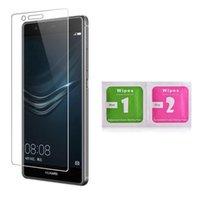 Huawei Için 10 adet Ekran Koruyucu için P10 Lite P10 Perakende Temperli Cam Koruyucu Film için Huawei P9 Onur 8 7 ücretsiz Kargo
