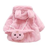Cappotto invernale in cotone monopetto monopetto con cappellino Cappotto bimbo per bambina Capispalla bambino Abbigliamento da snowsuit