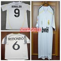 New Arrival. 98 99 00 Real Madrid Retro Soccer Jersey RAUL Football Shirts  1998 1999 2000 Redondo Carlos ... 58b7d0a61