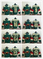 Minnesota Wild Mens Hockey Jerseys 9 Mikko Koivu 11 Zach Par...