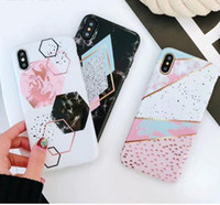 Candy Color Marble Phone Case For iphone X Case For iphone 6...