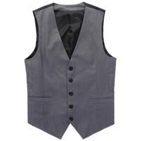 Nouvelle robe de mariée de haute qualité marchandises coton costume de conception de la mode des hommes vest / gris noir affaires haut de gamme des hommes costume décontracté gros