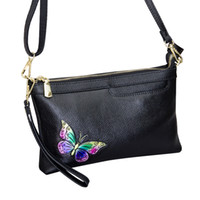 Aprilla day clutches shoulder bags Genuine Leather Women hob...