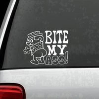 Bite My Ass! Funny Rude Adult Car Truck Window Wall Laptop V...