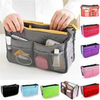 Frauen einfügen Handtasche Organizer Geldbörse Large Liner Organizer Bag Reise tragbar