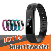 ID 115 smart bracelet fitness tracker step counter activity ...