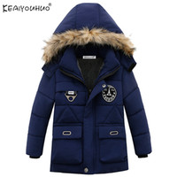 Children Clothing Winter Boys Coats Long Sleeve Down Jackets...
