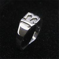 1 stück Freies Verschiffen Größe 6-10 Dame Mädchen 925 Sterling Silber Nummer 13 Ring Schmuck Neueste S925 Mode Glück 13 Ring