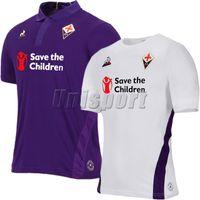 2018 19 ACF Fiorentina Camisas de Futebol Chiesa Simeone Gerson Camisa  Futbol Camisa de Futebol dea7f75616da2