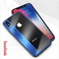 luxury brand case cover mobile Exclusive For iPhone 7 X 8 6 ...