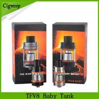 TFV8 Baby-Tankzerstäuber mit 3ML nimmt Turbo-Motoren - V8 Baby-Q2 Dual-Core-Wolke-Biest-frei s von dhl 0266108-1