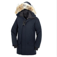 Women Men' s Brand Solid Color Parker Coat Down Jacket M...