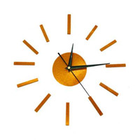 3D 침묵 홈 장식 석 영 DIY 벽 시계 시계 Horloge 시계 거실 아크릴 거울 스티커 16 인치 세련 된 벽 시계