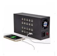 40 poorten 200W 300W USB-oplader 5V2A Power Intelligente oplaadstations Geconcentreerde batchlader Smartphone Charger LLFA
