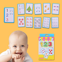 التعليم المبكر ABC بطاقة الأبجدية الإنجليزية 123 بطاقة الكتابة محو الأمية للأطفال ألعاب تعليمية بطاقات الأطفال بطاقات التعليم التعليمية